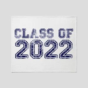 Class of 2022 Throw Blanket