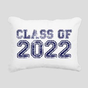 Class of 2022 Rectangular Canvas Pillow