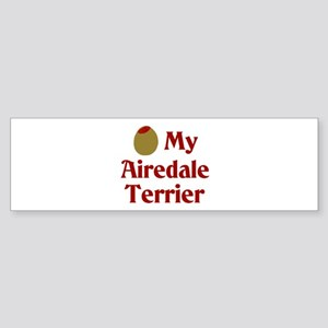 Olive My Airedale Terrier Bumper Sticker