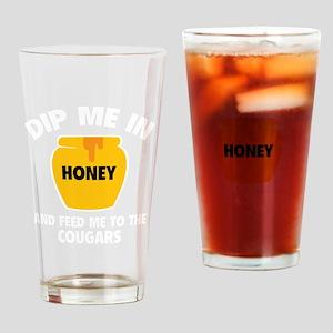HoneyCoug1D Drinking Glass