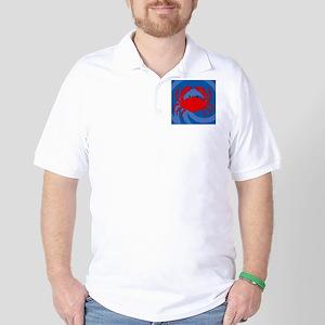 Crab Queen Duvet Golf Shirt