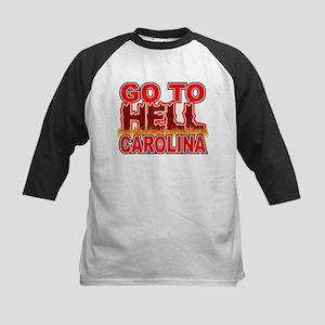 Go To Hell Carolina Kids Baseball Jersey