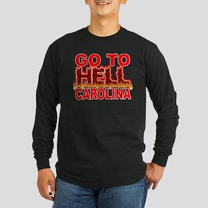 Go To Hell Carolina Long Sleeve Dark T-Shirt