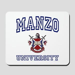 MANZO University Mousepad