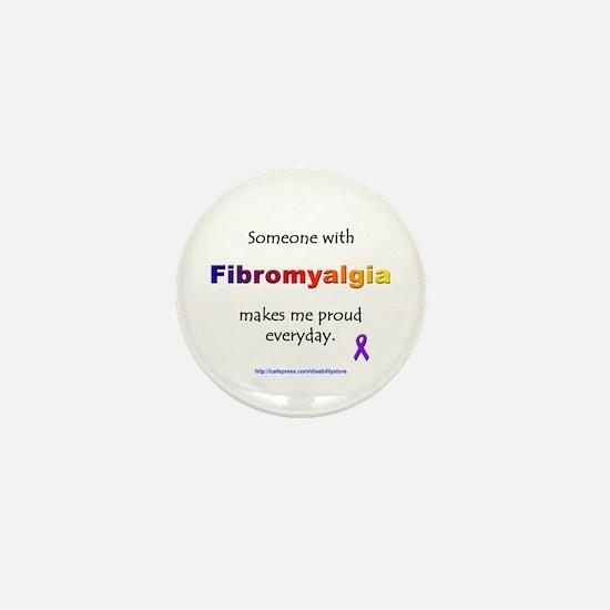 """""""Fibromyalgia"""" Mini Button"""