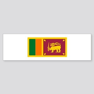 Sri Lanka Flag T Shirts Bumper Sticker