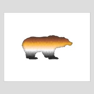 FURRY BEAR PRIDE BEAR CUTOUT Small Poster