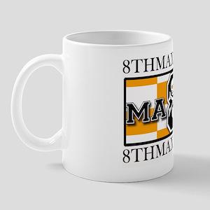 8th Maxim Logo with Web Address Mug