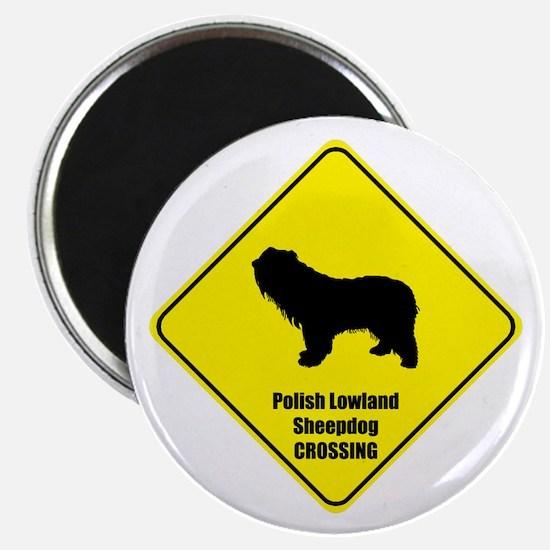 Sheepdog Crossing Magnet