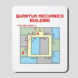 Quantum Mechanics Building Mousepad