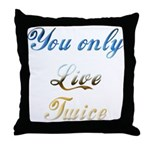 Virtual Immortality With This Throw Pillow