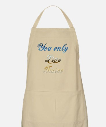 Virtual Immortality With This BBQ Apron