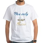 Virtual Immortality With This White T-Shirt