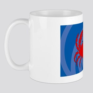 Crab 35x21 Wall Mug