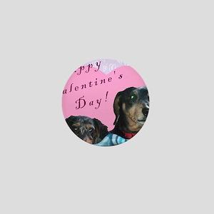 Happy Valentines Day Mini Button