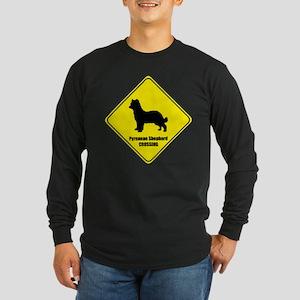 Shepherd Crossing Long Sleeve Dark T-Shirt