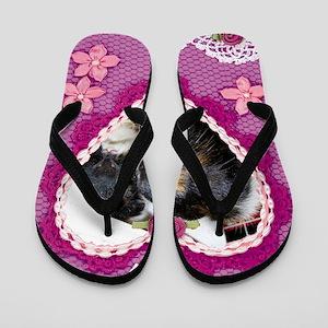 Valentine Piggies Flip Flops