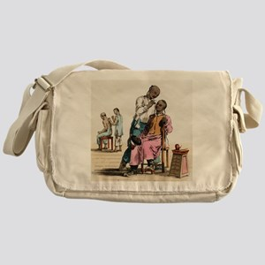 Chinese acupuncture, artwork Messenger Bag