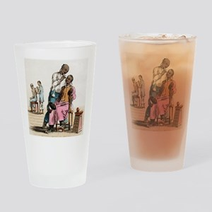 Chinese acupuncture, artwork Drinking Glass