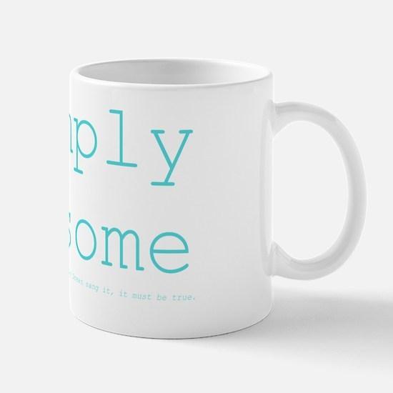 *simply awesome (ocean) Mug