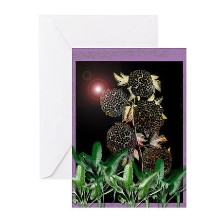 Floral Design 2 Greeting Cards (Pk of 10)