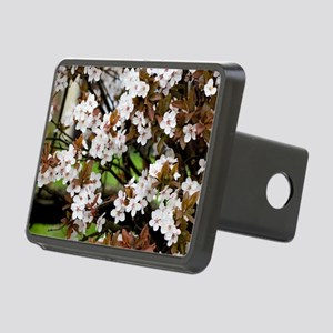 Cherry plum blossom (Prunu Rectangular Hitch Cover