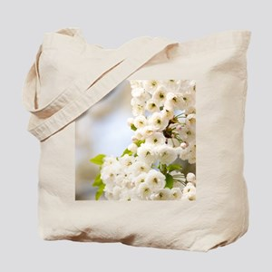 Cherry blossom (Prunus sp.) Tote Bag