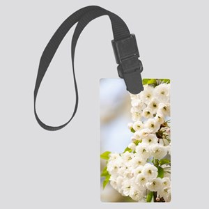 Cherry blossom (Prunus sp.) Large Luggage Tag