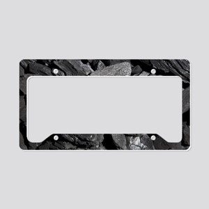 Charcoal License Plate Holder
