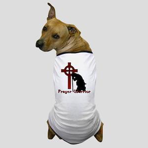 Prayer Knight Red Dog T-Shirt