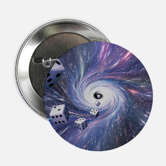 """Chance in the universe 2.25"""" Button"""