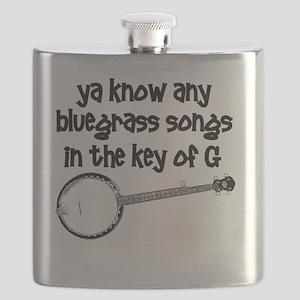 Funny Banjo Flask