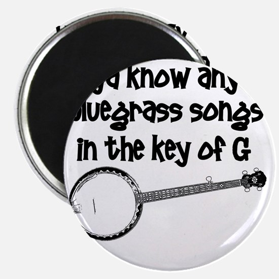 Funny Banjo Magnet