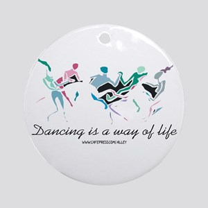 Dance Life Ornament (Round)