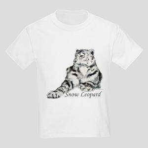 Snow Leopard Kids Light T-Shirt