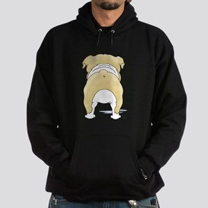 BlondeBulldogShirtBack Sweatshirt