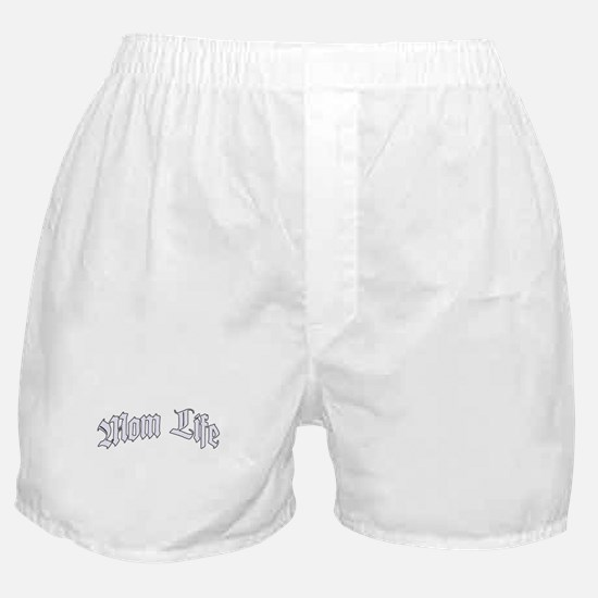 Mom Life (Thug Life) Boxer Shorts