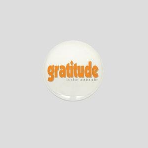 Gratitude is the Attitude Mini Button