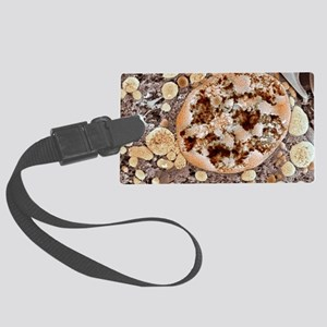 Cell nucleus, SEM Large Luggage Tag