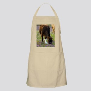 Cattle and cattle egrets Apron
