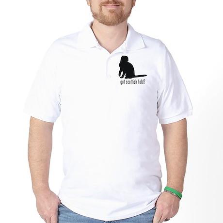 Scottish Fold Golf Shirt