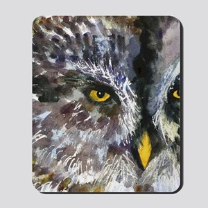Owl Eyes Bathroom Mousepad