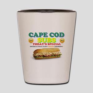 CAPE COD SUBS - ASS CRACK CHEESE DRESSI Shot Glass