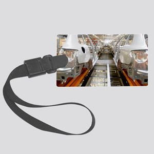 Car factory production line Large Luggage Tag
