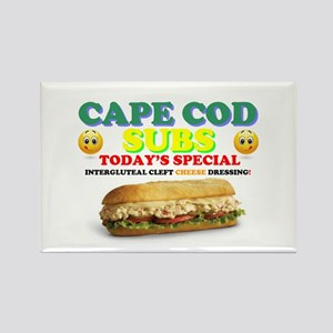 CAPE COD SUBS - ASS CRACK CHEESE DRESSING! Magnets