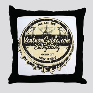 Ventnor Guide Logo Throw Pillow