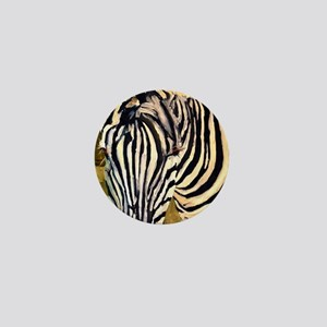 Zebra Bathroom Mini Button