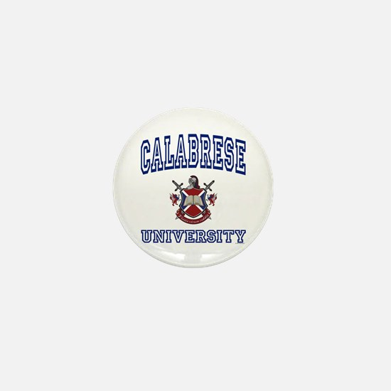 CALABRESE University Mini Button