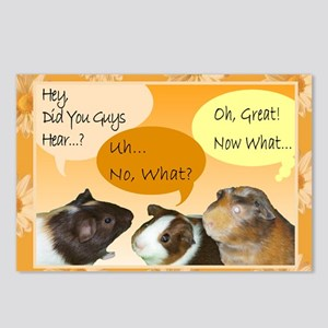 Piggy Greeting Card Postcards (Package of 8)