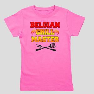Belgian Grill Master Apron Girl's Tee